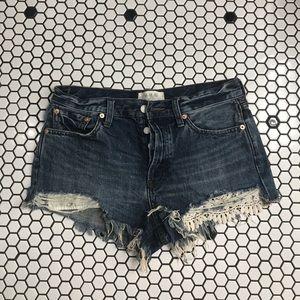 Free people denim shorts size 28